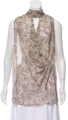 Haute Hippie Silk Sleeveless Top w/ Tags