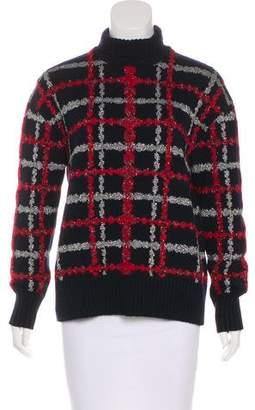 Chanel 2016 Metallic Turtleneck Sweater