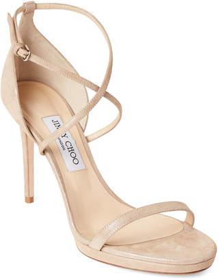 7866f77fbeb3 Jimmy Choo Suede Upper Women s Sandals - ShopStyle