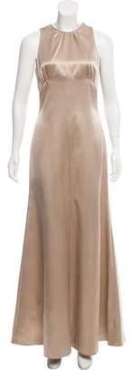 Giorgio Armani Silk Evening Dress