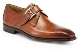 Saks Fifth Avenue COLLECTION BY MAGNANNI Leather Monk-Strap Dress Shoes