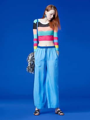 Diane von Furstenberg Long-Sleeve Knit Pull Over