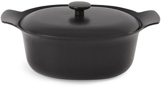 Berghoff International Ron Cast-Iron Casserole Dish - Black International