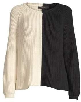 Max Mara Atalia Colorblock Ribbed Sweater