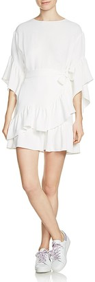 Maje Rahime Ruffle Dress $440 thestylecure.com