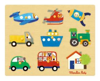 Moulin Roty Transport puzzle