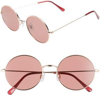 BP 53mm Flat Round Sunglasses