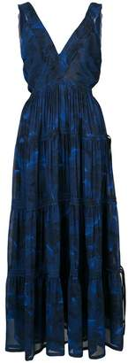 Proenza Schouler Pleated Empire Dress
