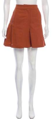 Jason Wu Grey by Pleated Mini Skirt