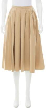 Michael Kors Pleated Knee-Length Skirt w/ Tags