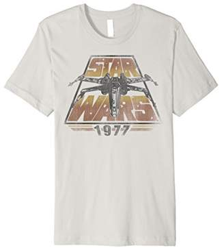 Star Wars X-Wing 1977 Vintage Retro Premium Graphic T-Shirt