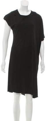 MM6 MAISON MARGIELA Oversize Asymmetric Dress