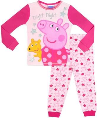 Peppa Pig Girls' Night Night Pajamas