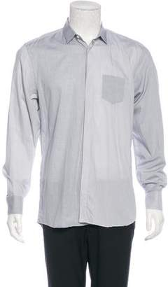 Neil Barrett Grid Print Shirt
