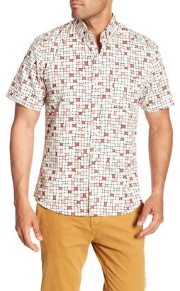 Kennington 70s Tile Short Sleeve Print Shirt