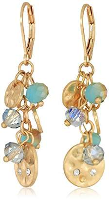 lonna & lilly Women's Gold-Tone and Shaky Drop Earrings