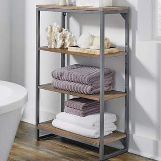 "17 Stories Eckles 24"" W x 38.25"" H Bathroom Shelf"