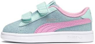 PUMA Smash v2 Glitz Glam Little Kids' Shoes
