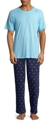 Tommy Bahama Two-Piece Knit Pajama Set