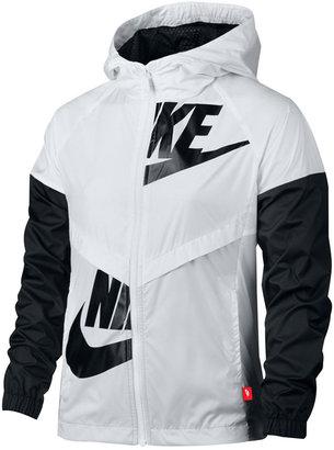 Nike Sportswear Windrunner Jacket, Big Girls (7-16) $85 thestylecure.com