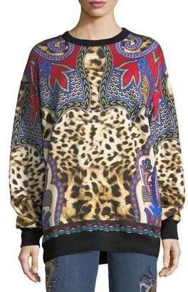 Etro Animal & Paisley Sweatshirt