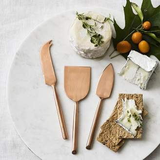 Williams-Sonoma Williams Sonoma Copper Cheese Knives, Set of 3