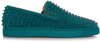 Christian Louboutin Roller-Boat spike-embellished slip-on trainers