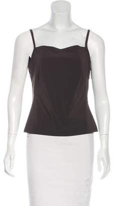 Equipment Sleeveless Cut-Out Top