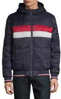 Tommy Hilfiger Logo Quilted Hoodie