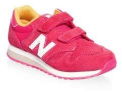 New Balance Little Girl's& Girl's Suede Sneakers
