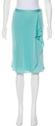 Blumarine Draped Knee-Length Skirt