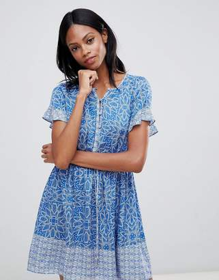Whistles Riya Drawstring Mini Dress