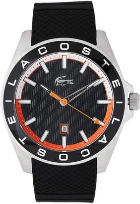 Lacoste 2010904 Silver-Tone & Black Watch