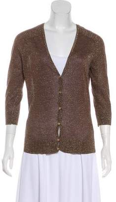 Tory Burch Accented Knit Cardigan