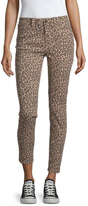 YMI Jeanswear Womens High Waisted Skinny Fit Ankle Pant-Juniors