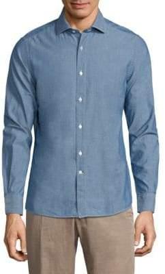 Boglioli Long Sleeve Cotton Shirt