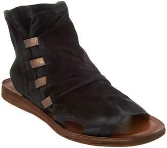 Miz Mooz Leather Ankle Sandals - Fizzy