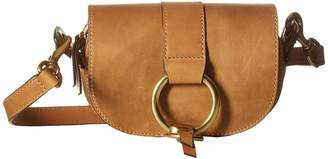 Frye Ilana Harness Mini Saddle Hobo Handbags