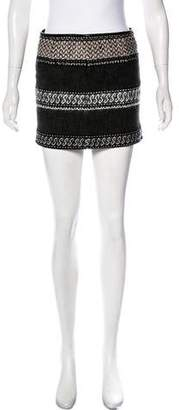 Edun Textured Mini Skirt w/ Tags