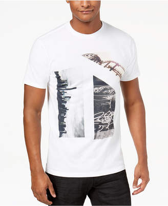 INC International Concepts I.n.c. Men's City Sites Graphic T-Shirt, Created for Macy's
