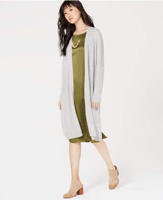 Charter Club Solid Pure Cashmere Maxi Duster in Regular & Petite Sizes