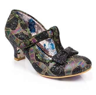 Irregular Choice Lazy River - Metallic (Man-Made) Womens Heels 9 US