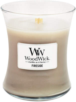 Closeout! WoodWick Medium Fireside Jar Candle