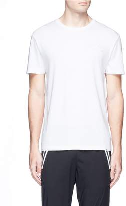 The Upside 'Newman' logo embroidered Pima cotton T-shirt