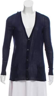Rag & Bone Knit Long Sleeve Cardigan