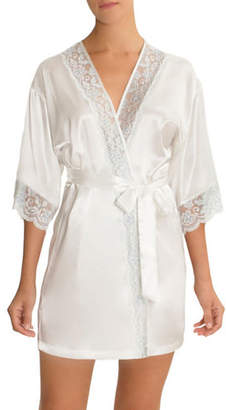 IN BLOOM Blue Belle Bridal Robe