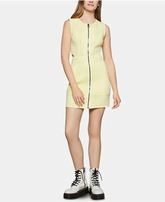 BCBGeneration Zip-Front Mini Sheath Dress