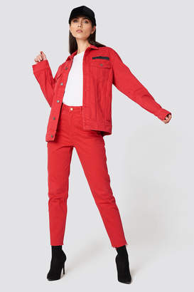 Cheap Monday Donna OD Red Jeans OD Red