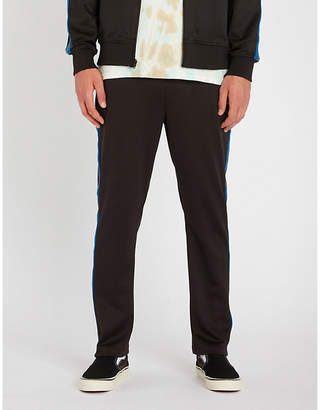 Stussy Regular-fit straight jersey jogging bottoms