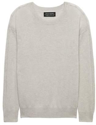 Banana Republic Todd & Duncan Cashmere Drop Shoulder Sweater